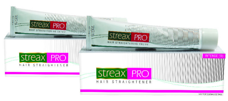 Image result for Streax Pro Hair Straightener Cream Intense