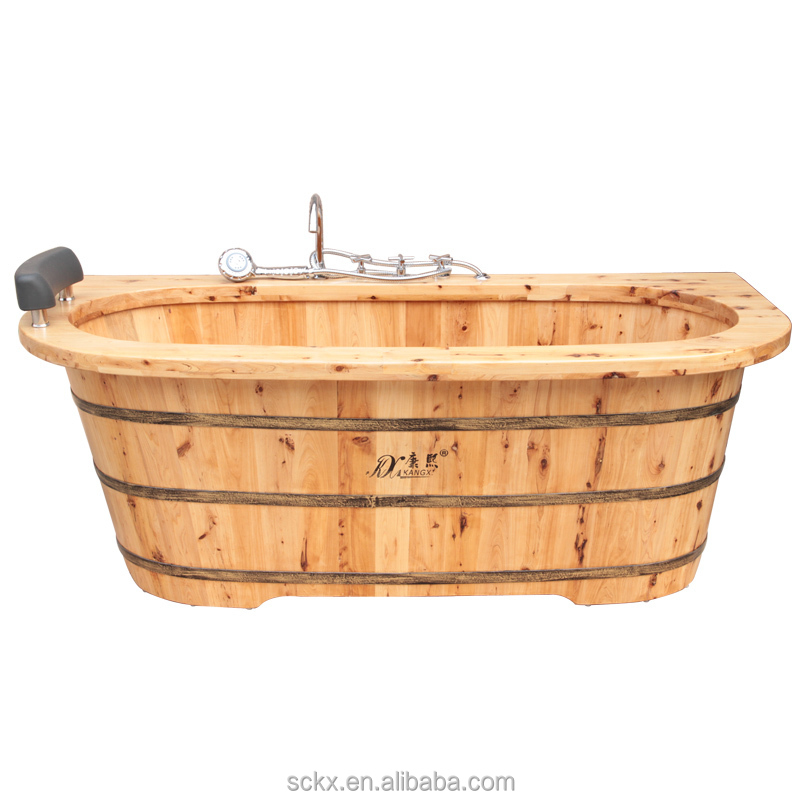Kx 34 Soaker Bath Tub Cedar Outdoor Bathtub Japanese Wooden Soaking Tubs Bu