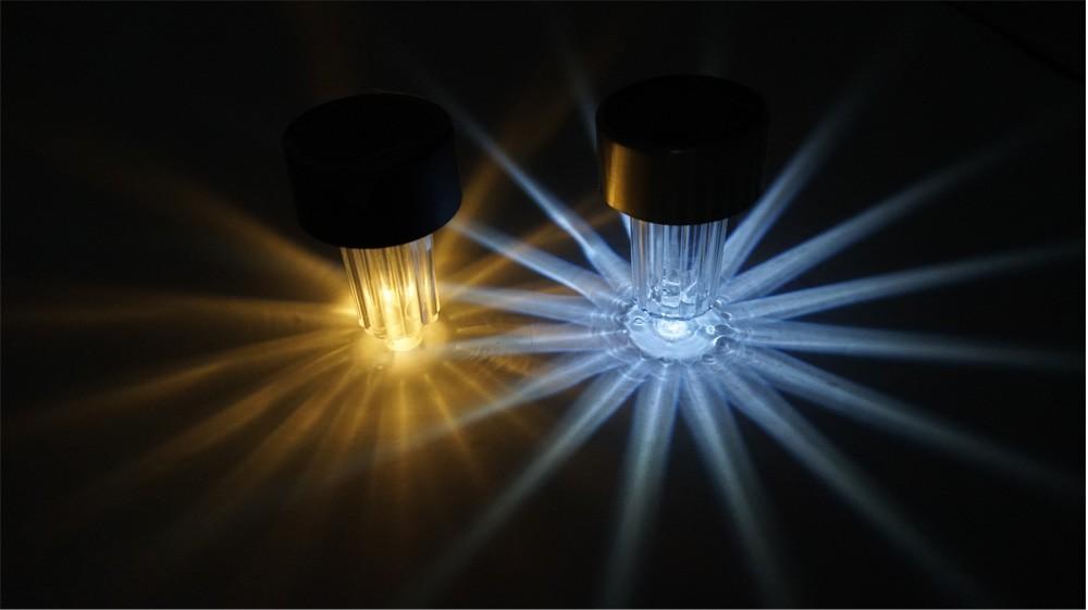 Led mini lampada solare portatile alimentato esterna luci di