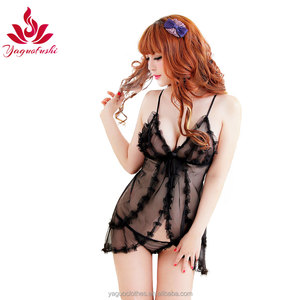 Hot Sexy Teen Girl Polyester Sleepwear Women High Quality Lingerie Sexy Babydoll Mixed Wholesale
