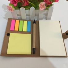 OEM individuelle set adhesive sticky notes memo mit stift
