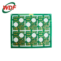 2 OZ copper pcb, printed circuit board with 2.0mm thickness