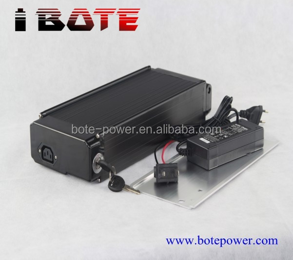 high power rear rack electric bicycle battery 48v 15ah lithium ion battery for ebike with free 2a charger