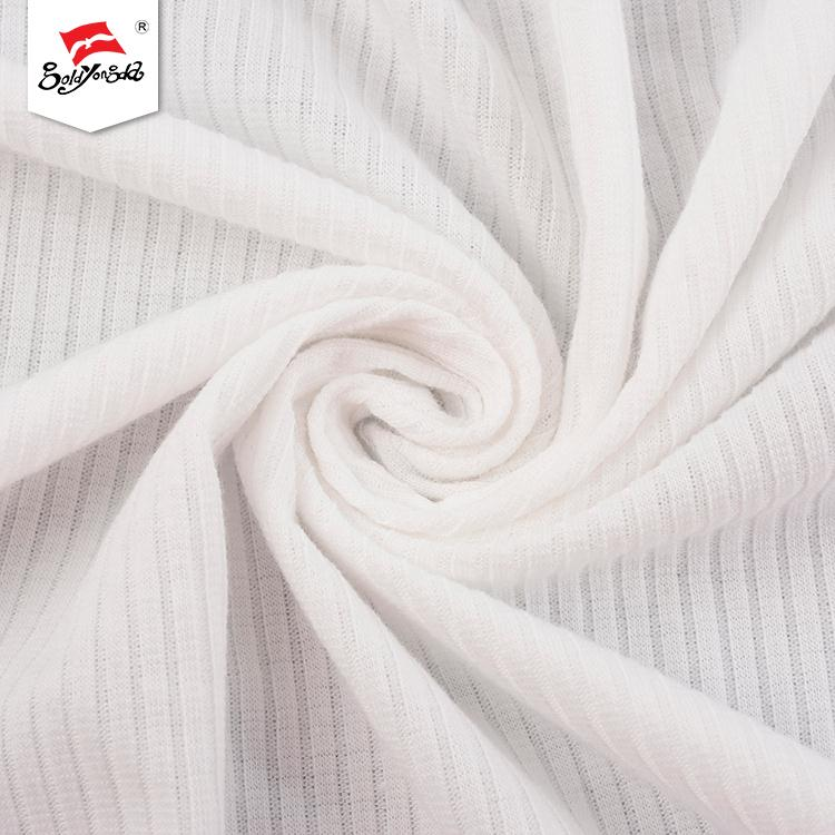Hot sale customized soft hand feel stretch knit fabric