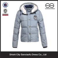Winter Lady Cotton Padded Jacket, Warm Women Ski Jacket, Light Cheap Ski Clothing