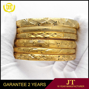 18 karat gold bangle