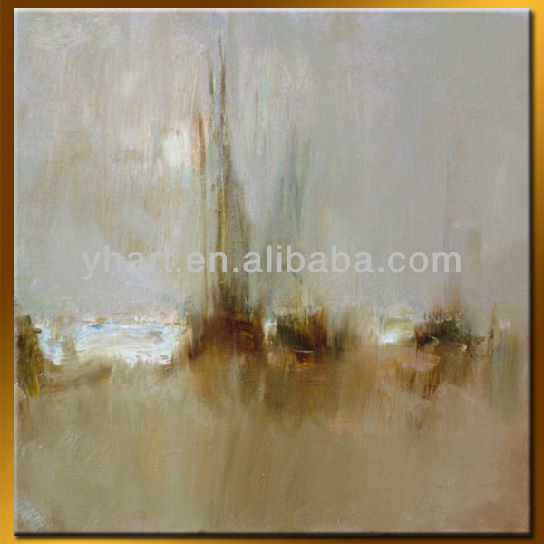 Oil painting hand painted canvas with frame