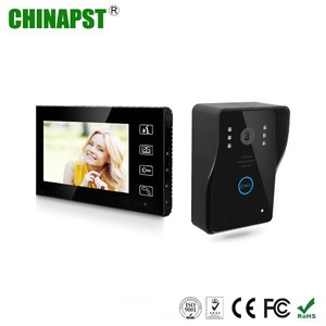Intelligent Smart Home Automation Systems 7'' TFT LCD Screen Doorbell, Video Intercom Door Phone PST-VD7WT2
