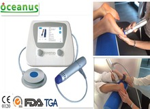 Hot!! Portable shockwave machine for pain and cellulite/ ESWT for cell renewal stimulation / Shockwave therapy for podiatry