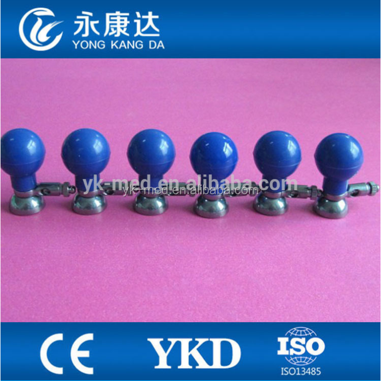 EKG suction ball electrodes for pediatric