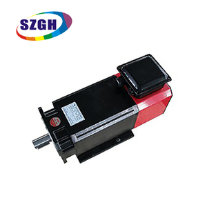 Hot sale high torque AC 15kwac spindle servo drive motor three phase motor