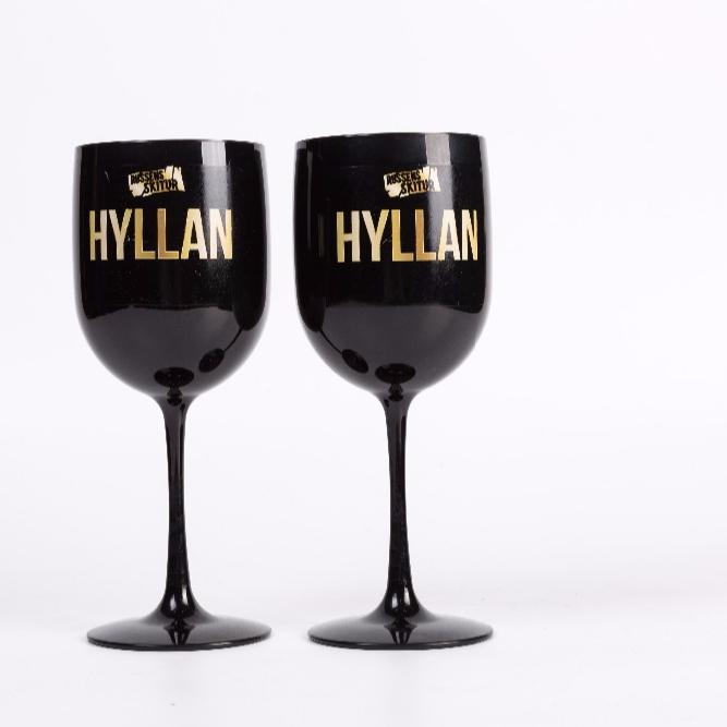 ecdf659ca79 China Factory Champagne Wine Glasses Plastic Black Champagne Glass For  Wedding