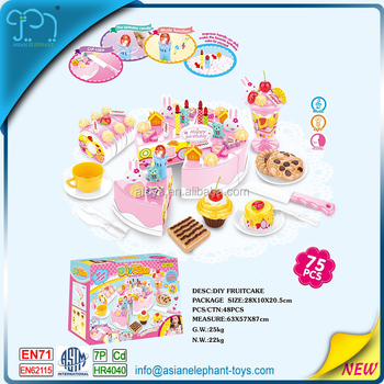 cake toys for 2017 new baby girl birthday gifts 5 year old girls with en71