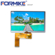 Formike customer rtp touch screen assembly high brightness 800x480 7 inch ips tft lcd display