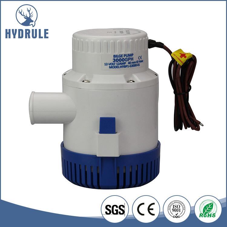 Hydrule 12v Marine Bilge Pump 3000gph Underwater Impeller Pumps