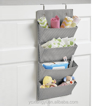 Superieur Over Door/Wall Mounted Canvas Hanging Closet Storage Organizer, Kids Hanging  Closet
