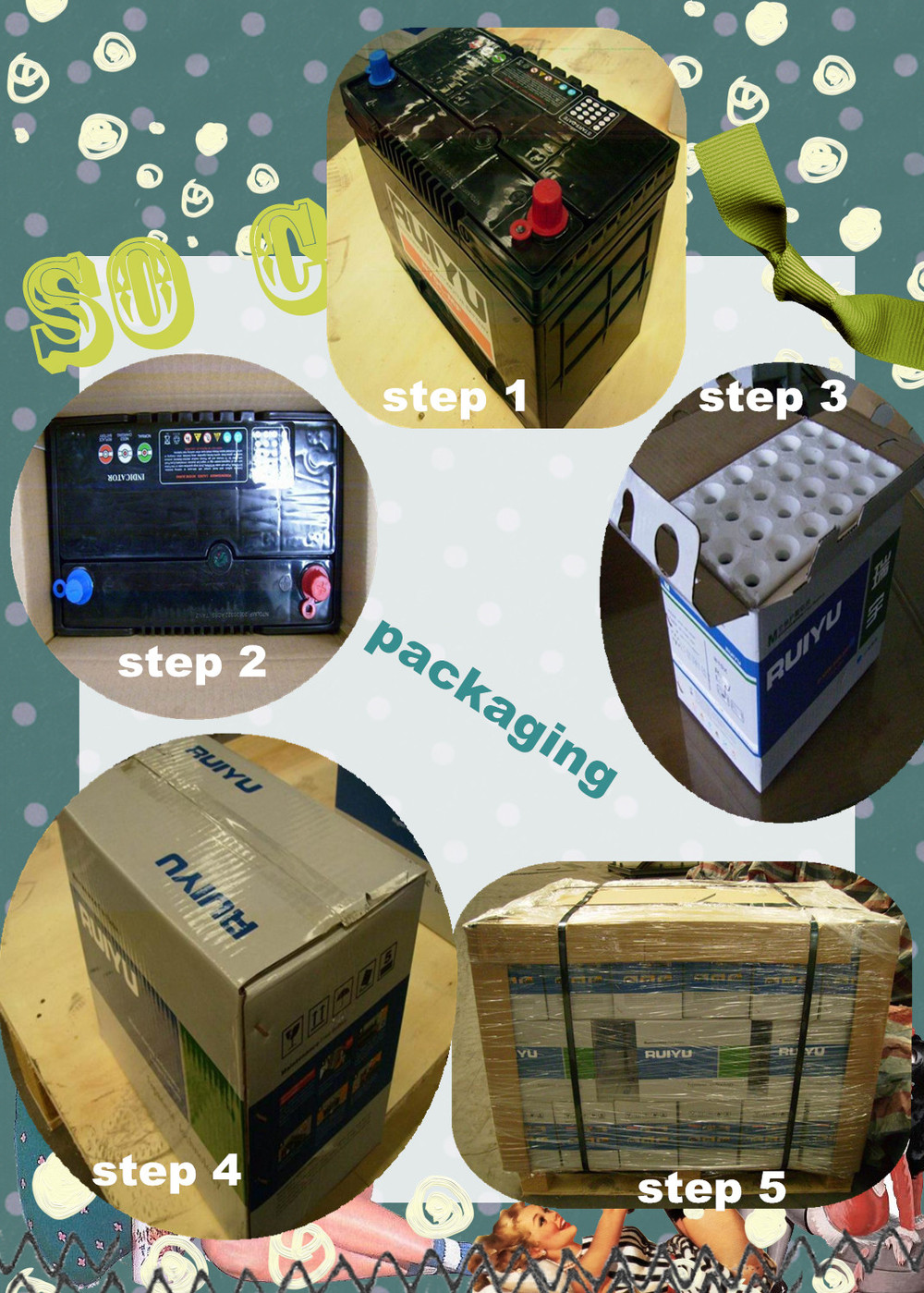 From China Supplier For Starting Din66 Amaron Battery