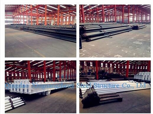 2016 New Design Steel Prefabricated Warehouse
