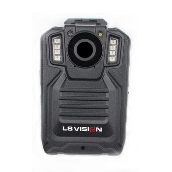 LS VISION Basic Security Guard Body Worn Camera One key for Alarm Sound and Alarm Flash Light