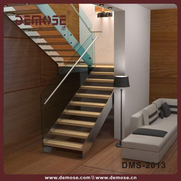 U de la forma de la placa de acero stringer modern for Escaleras en u