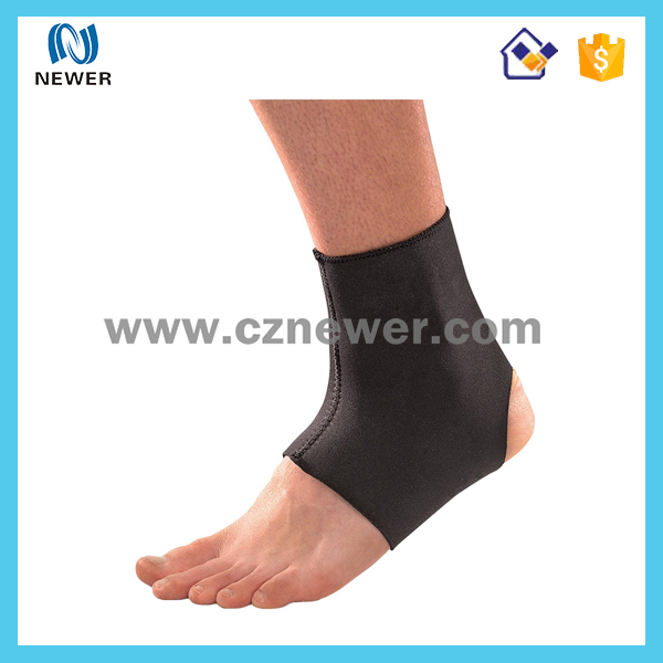 Best design hot selling durable gel pack neoprene ankle guard