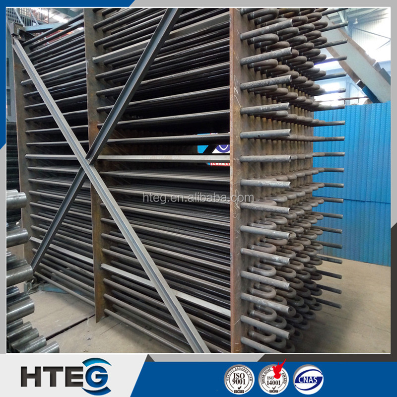 China boiler pressure part ASME standard H finned tube steam economizer coils
