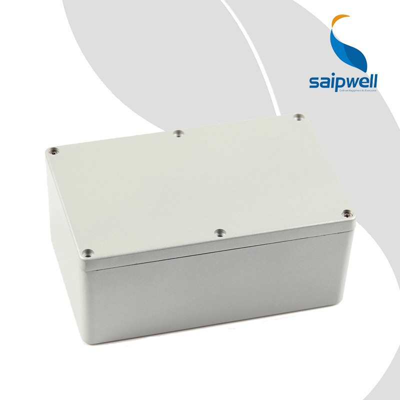 Saipwell Aluminum Junction Box IP66 Project Use China Wholesale Metal Boxes Cheap