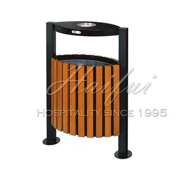 outdoor park garden decorative commercial garbage bin trash bins trash cans - Commercial Garbage Cans