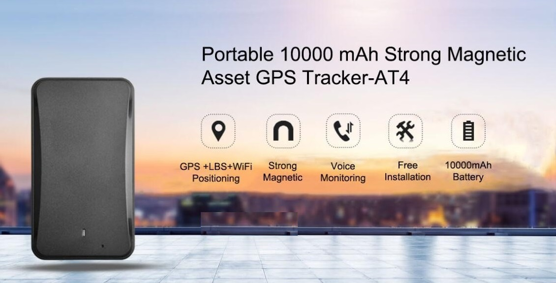 Concox 10000mAh gps tracker AT4 portable asset waterproof tracking device  with tamper alert listen-in anti-theft for valuables, View asset gps