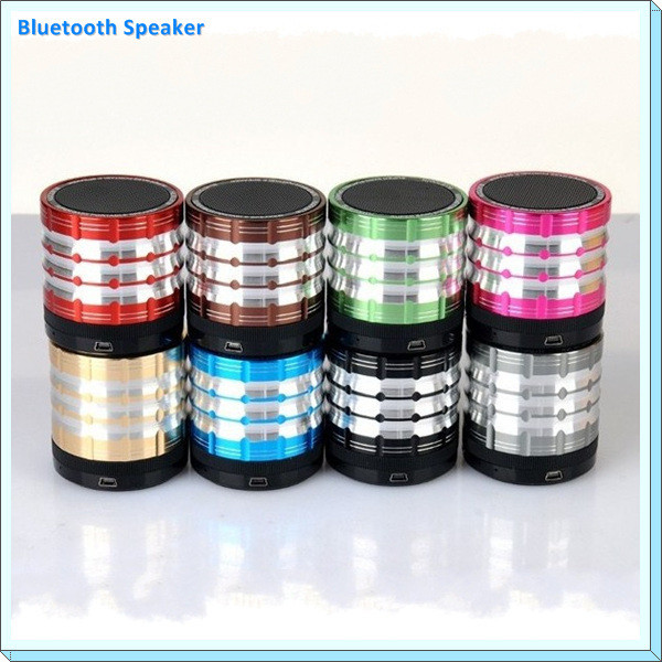 Super bass Portable Speaker with Rotary type Volume control TF Card For Iphone Sumsung HTC Mini Speaker bluetooth K1