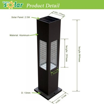 waterproof led solar lights outdoor led bollard light garden bollard light china supplier - Bollard Lights