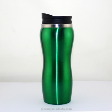 Stainless Steel Insulated Water Bottle Double Wall Design, with Straw Cap