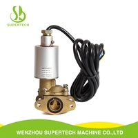 High quality ac 220v fuel dispenser spare parts stainless steel fuel solenoid valve