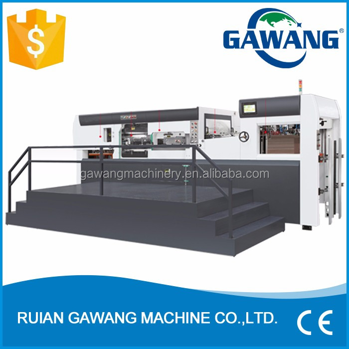 Automatic Paper Die Cutting and Creasing machine with Stripping
