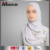 Moder Fashion Hot Sell Scarf Women Hijab Cheap Chiffon Cosy Simple Style Muslim Scarf