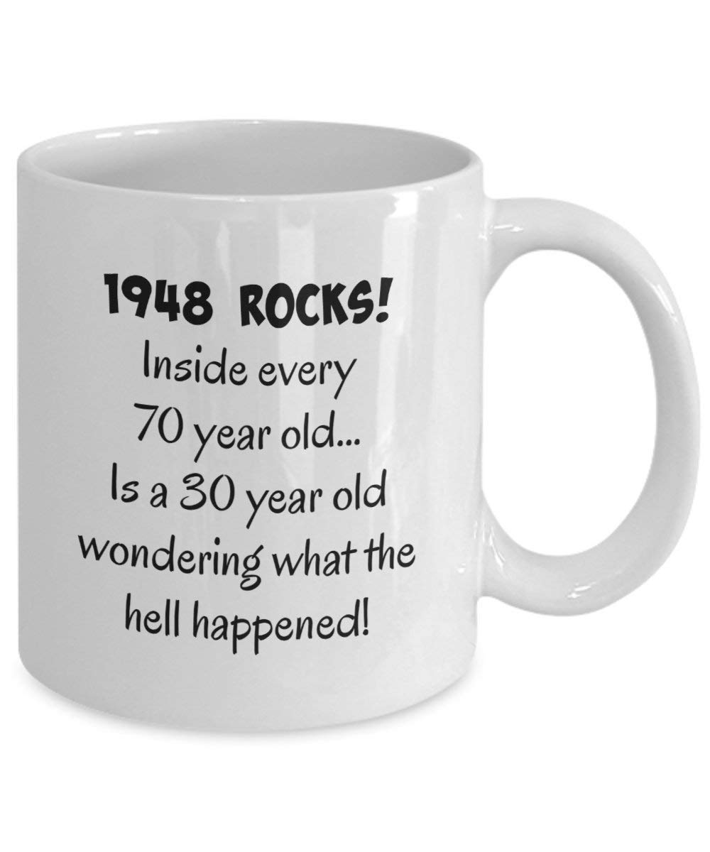 Get Quotations HAPPY 70th BIRTHDAY MUG