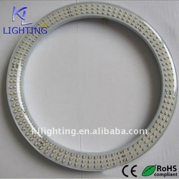 18w 300mm 30mm T9 Smd 3014 Circular Led Tube Yellow Led Ring Light ...
