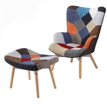 Gros lots patchwork tissu patio <span class=keywords><strong>canapé</strong></span> moderne salon <span class=keywords><strong>canapé</strong></span> inclinable simple <span class=keywords><strong>chaise</strong></span>