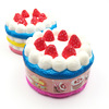 China Factory Supplier High Quality Soft Slow Rising Strawberry Cream Cake Food Squishy Toys