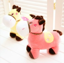 hobby horse stick plush toy