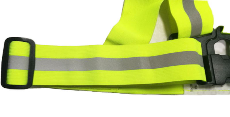 Funny high visible long reflective safety vest