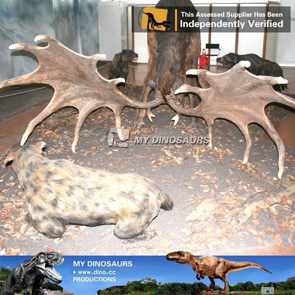 MY Dino-N167 Large/life size realistic animal statues sculpture in Directly Factory Price