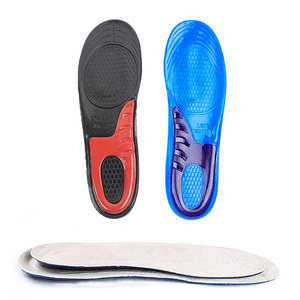 Shoes man lift height rubber air cushion flat foot height increasing shoe insoles