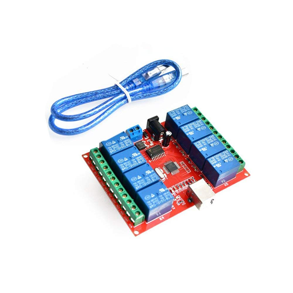 Cheap 8 Channel Relay Driver Find Deals On Circuit For Get Quotations 2pcs Lot 12v Module Computer Usb Control Switch Free