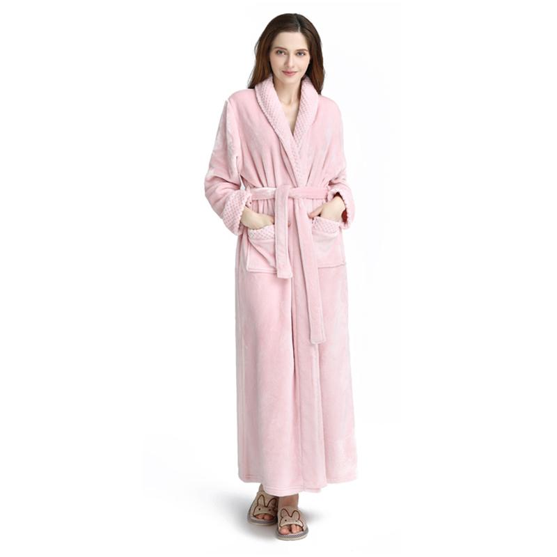 8d6f5c6fcf Women Thick Winter Bathrobes