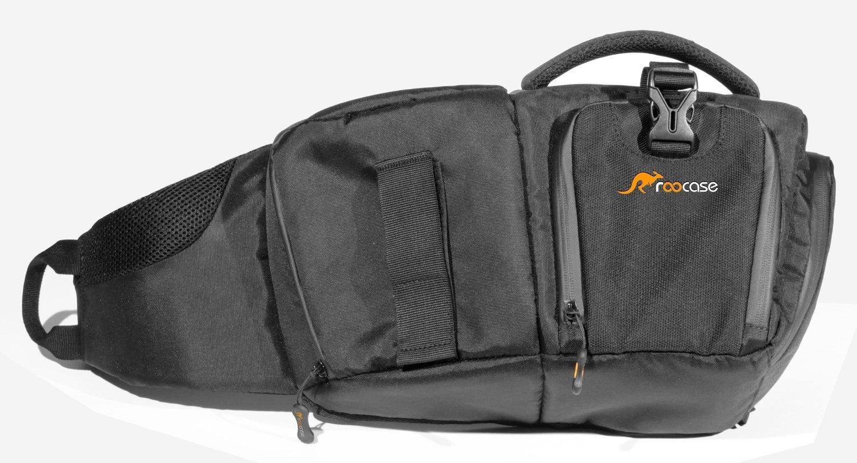 DSLR Sling Camera Bag, roocase DSLR Slign Camera Backpack for Canon, Nikon, Sony and Penta