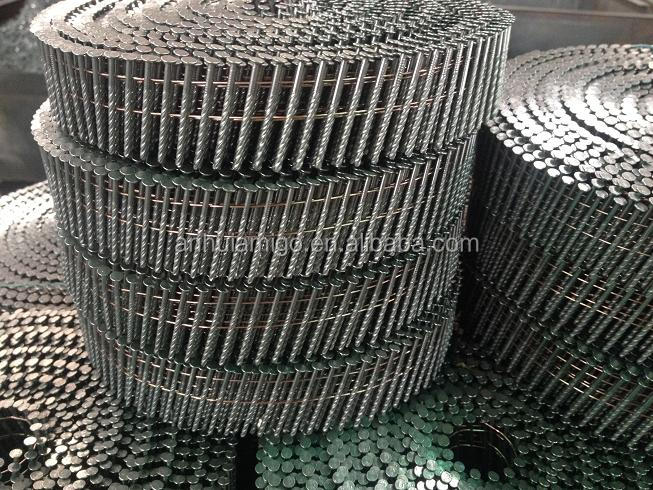 JUMBO COIL <strong>NAILS</strong> FOR PALLET MACHINE USING
