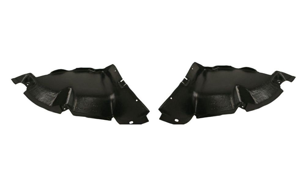 Evan-Fischer EVA20172062516 New Direct Fit Engine Splash Shield Set of 2 Plastic Replaces Partslink# VW1228112 VW1228113 Driver and Passenger Side for Volkswagen Cabrio