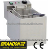 CE approval Brandon hot dog fryer electrical counter top fryer