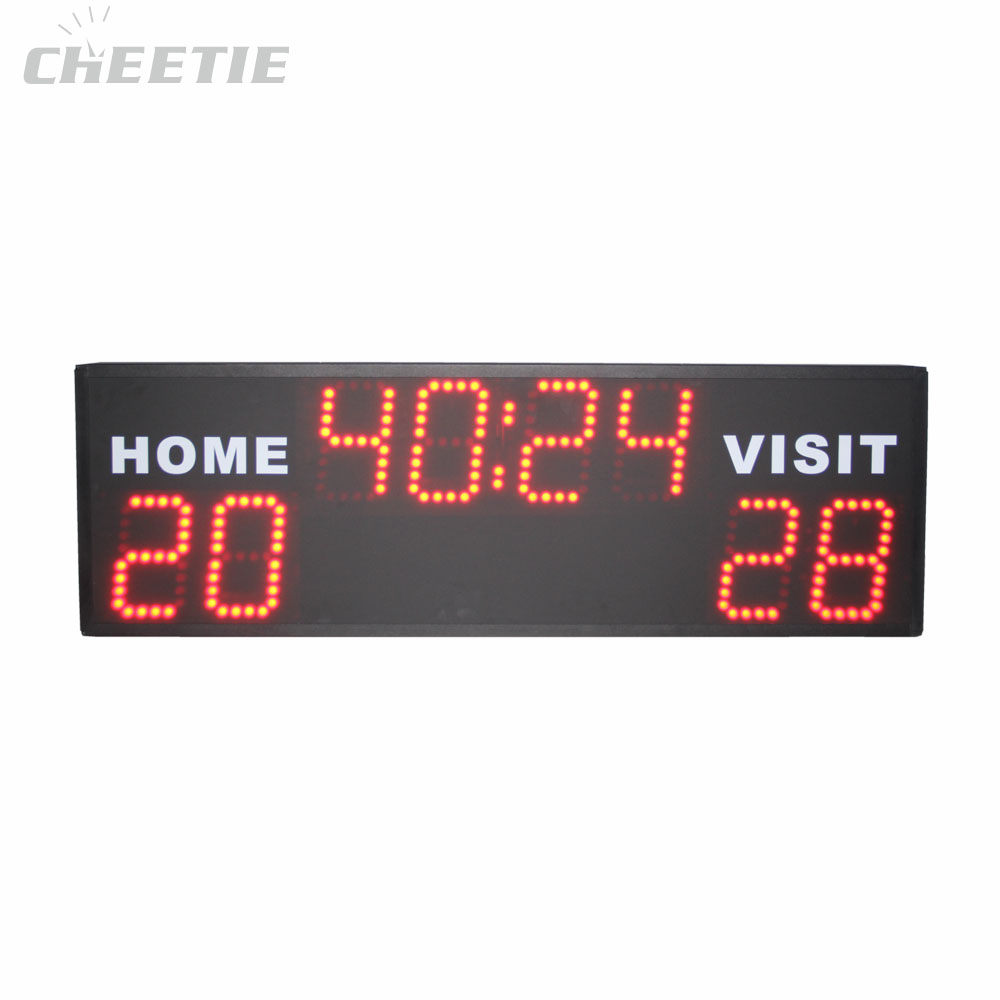 Digital Basketball Scoreboard LED Screen Display Used Scoreboard for Sale
